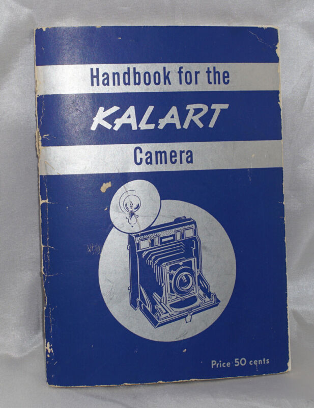 Handbook for the Kalart Press Camera 42 Pages from 1948