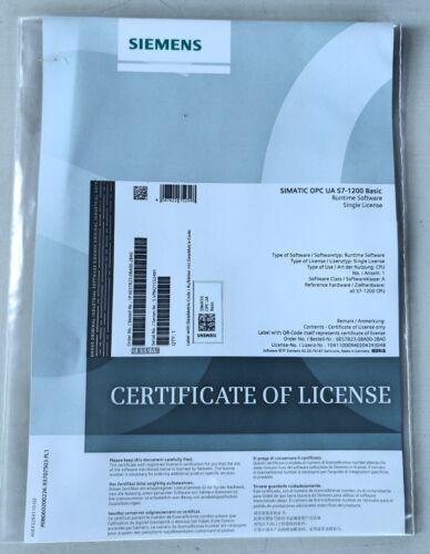 Siemens Simatic 6ES7823-0BA00-2BA0 OPC UA S7-1200 Basic Single License Runtime