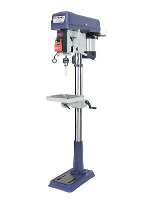 15 16-speed Step Pully Floor Drill Press