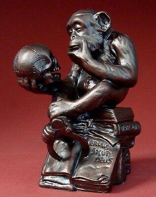 Darwin Monkey Affe -M- W. HUGO RHEINHOLD Figur Parastone Museumsedition RHE01