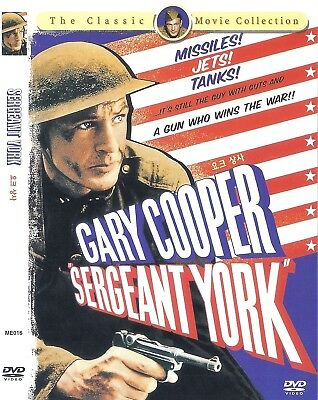 Sergeant York (1941)  Howard Hawks / Gary Cooper DVD NEW *FAST SHIPPING*