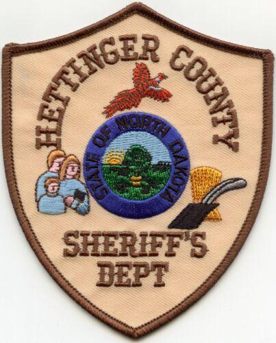 HETTINGER COUNTY NORTH DAKOTA ND SHERIFF POLICE PATCH