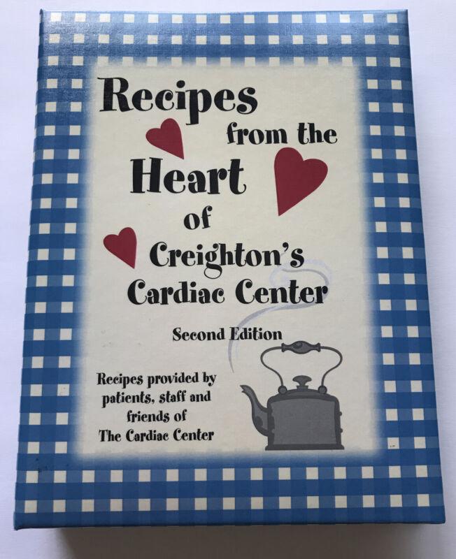 OMAHA Nebraska CREIGHTON UNIVERSITY COOK BOOK VTG Cardiac Center Hospital health