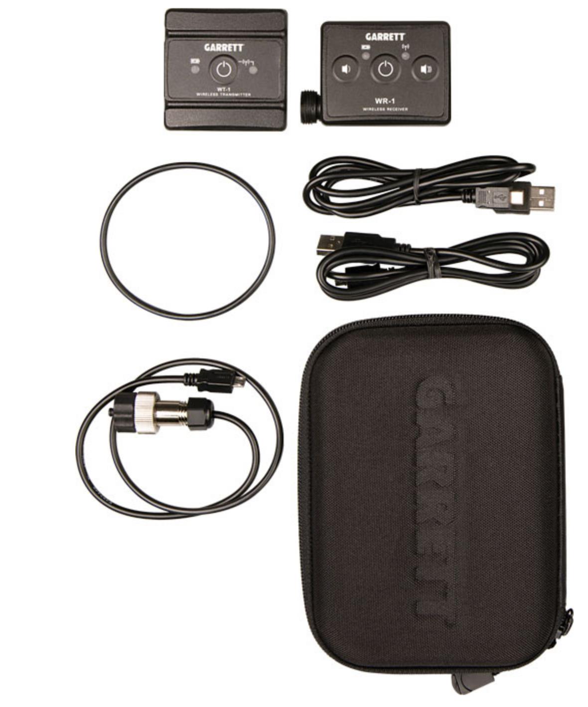Garrett Z-Lynk Wireless System 2-pin head jack AT Transmiter & Receiver 1627110