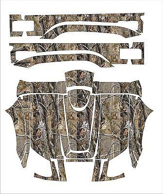 YAMAHA RHINO camo graphics wrap DECALS camouflage UTV SIDE X 450 700 660 kit 2