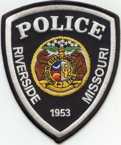 RIVERSIDE MISSOURI MO POLICE PATCH