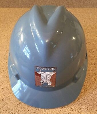 HOOVER DAM V-GARD HARD HAT TOUR BLUE DAM DOG SNACKATERIA STICKER 3 - #8140-4