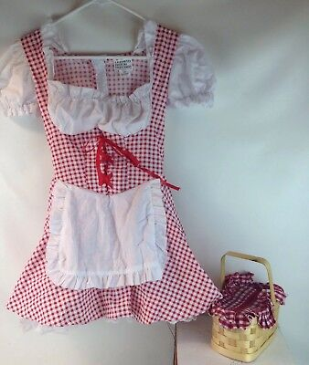 Little Miss Red Riding Hood (California Costume Halloween Little Miss Red Riding Hood Dress Tween Size)