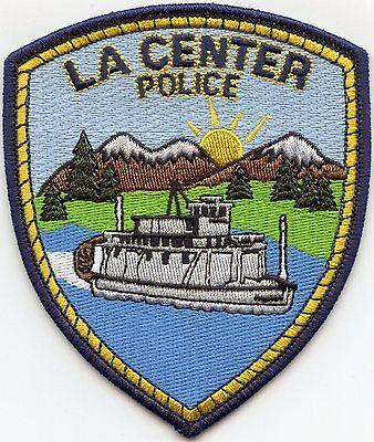 LA CENTER WASHINGTON WA POLICE PATCH
