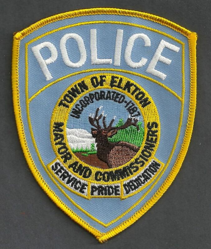 ELKTON MARYLAND POLICE SHOULDER PATCH