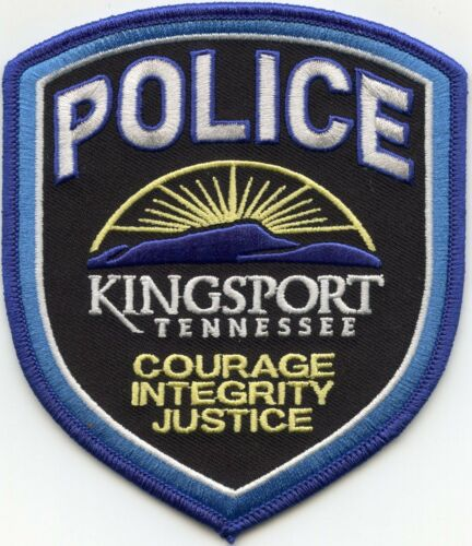 KINGSPORT TENNESSEE TN POLICE PATCH