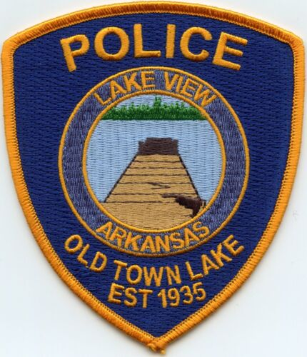 LAKEVIEW ARKANSAS AR Old Town Lake POLICE PATCH