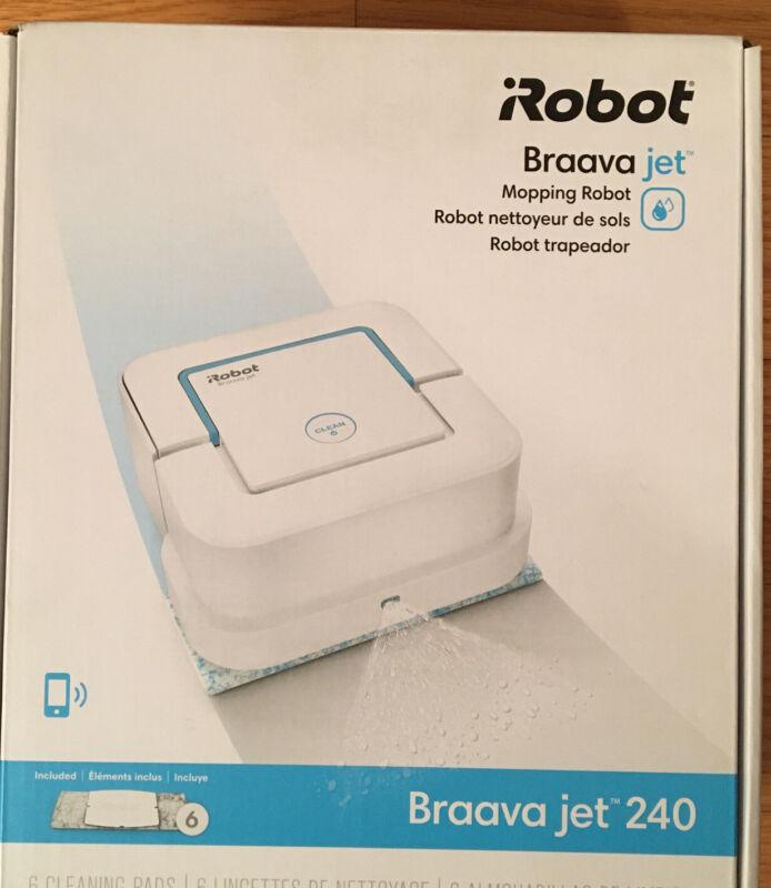 NEW SEALED iRobot Braava jet 240 Mopping Robot B240020 Ships Fast