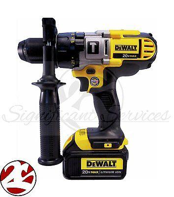 New Dewalt Dcd985 20V Max Dcd985b Hammerdrill Li Ion 3 Speed Hammer Drill Driver