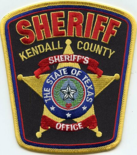 KENDALL COUNTY TEXAS TX SHERIFF POLICE PATCH