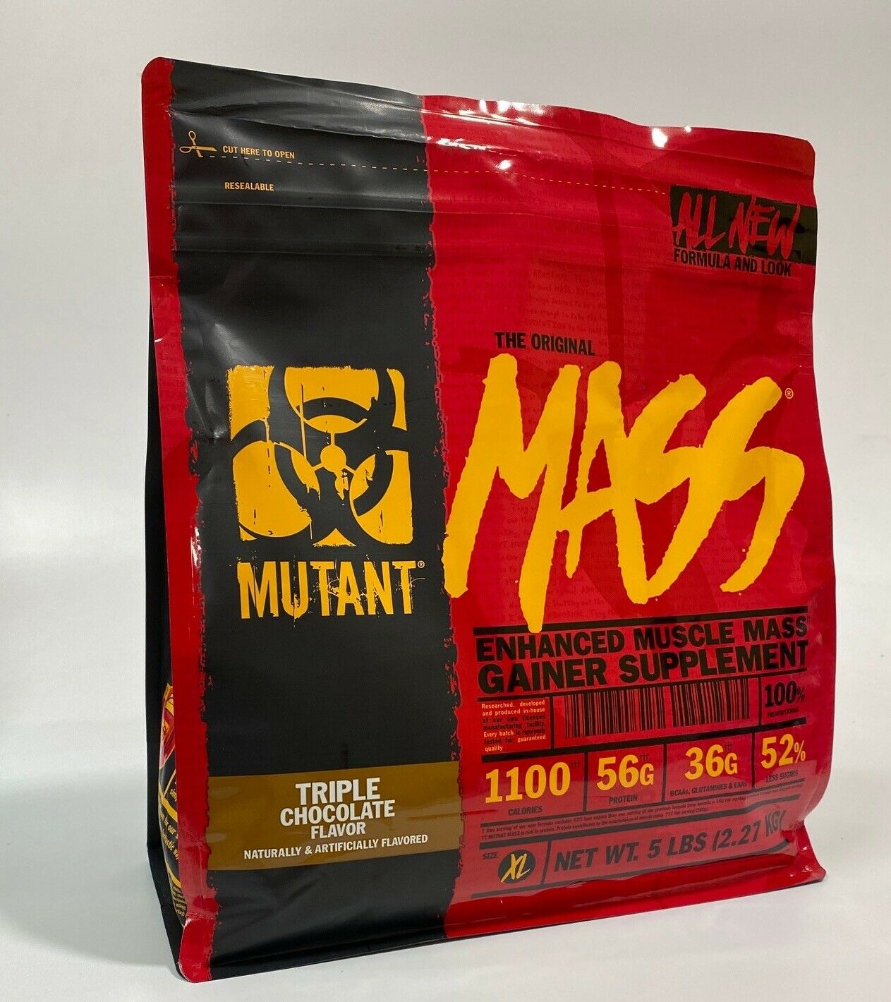 Mutant Mass 5 Lb Enhanced Muscle Mass Gainer Supplement
