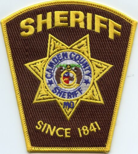 CAMDEN COUNTY MISSOURI MO SHERIFF POLICE PATCH
