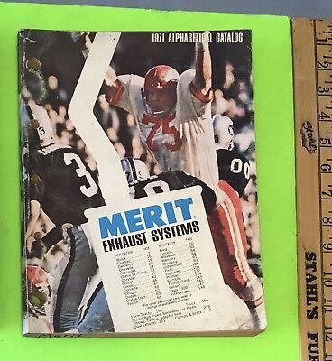 Muffler catalog, Merit, 1971.    Item: 9030b