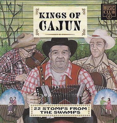 KINGS OF CAJUN - Various - 1992 22 Track CD Album