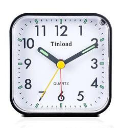 Analog Alarm Clock Silent Light Functions Without Annoying Tick Tock Sound