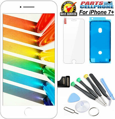 For iPhone 7+ Plus Screen Replacement LCD Retina Display Touch Digitizer White