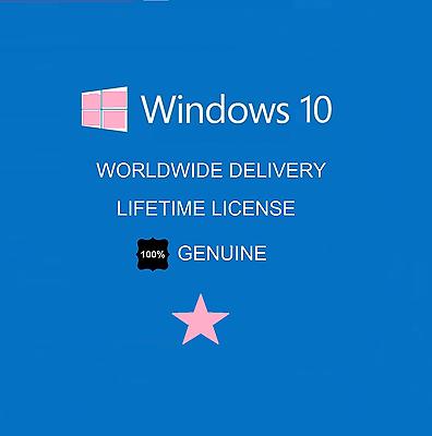 Windows 10 Pro 32/64 Bit Genuine License Key Product Code -  - ebay.es
