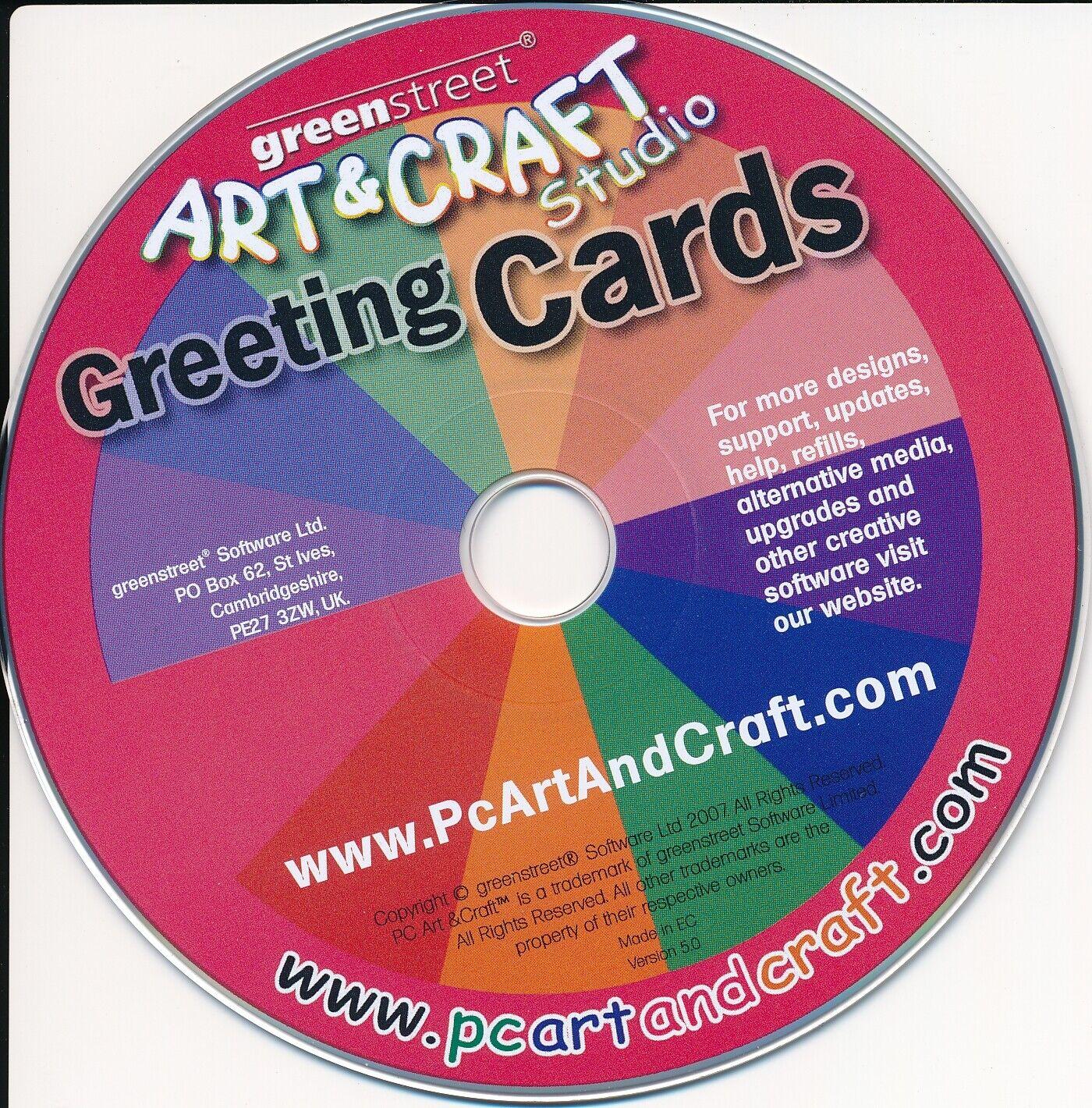 ART & CRAFT - Greetings Cards Studio - Birthday Maker PC Software (CD in Sleeve) 1