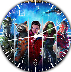Guardians OF THE Galaxy wall Clock 10  be nice Gift and Room wall Decor E42