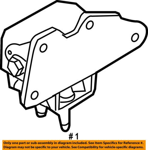 Ford Oem 11 13 F 150 Engine Motor Mount Torque Strut Bl3z6038g