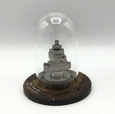 Nonius Goniometer Head Technol Inc Wood Base Glass Globe Delft Holland