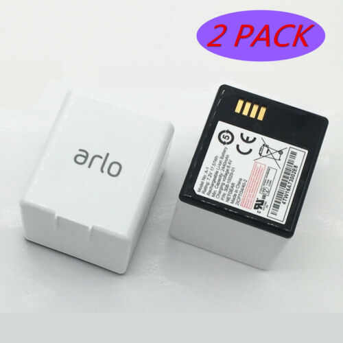 2 Pack Genuine Rechargeable Battery A-1 for ARLO PRO 1 2 Camera VMA4400 VMS4230