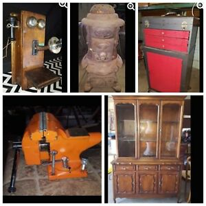 ONLINE AUCTION Sunday until Wednesday
