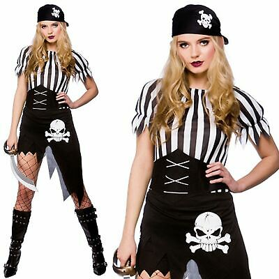 Ladies Pirate Costume Adults Caribbean Wench Fancy Dress Accessory Womens Outfit Pirate Wench Outfit
