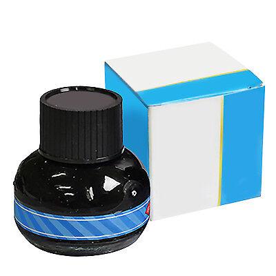 Carbon Blue Fountain Pen Ink Hero Writing Ink Refill Glass Bottle 60G New GUT