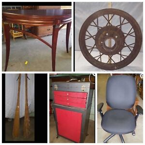ONLINE AUCTION ends Wednesday