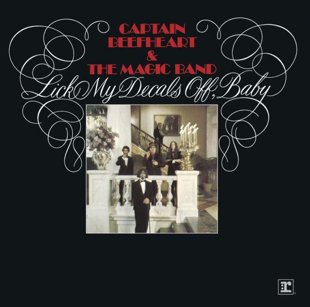 CAPTAIN BEEFHEART - LICK MY DECALS OFF, BABY: REMASTERED CD ALBUM (2015)
