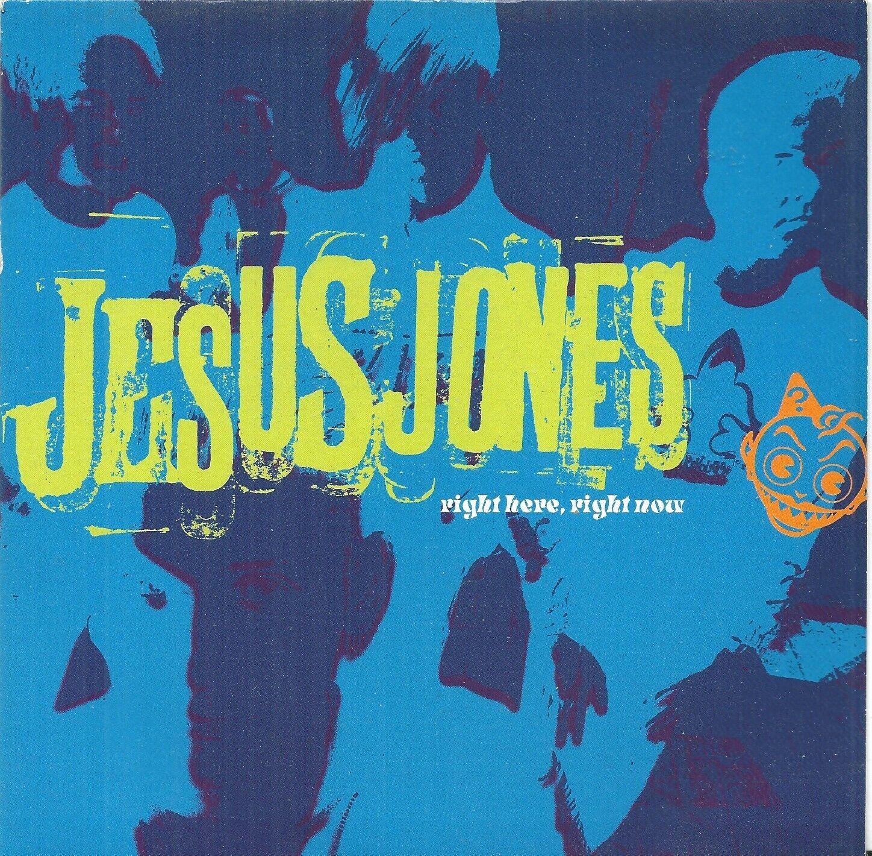 """Jesus Jones – Right Here, Right Now  7"""" Vinyl 45 RPM Ex Condition"""