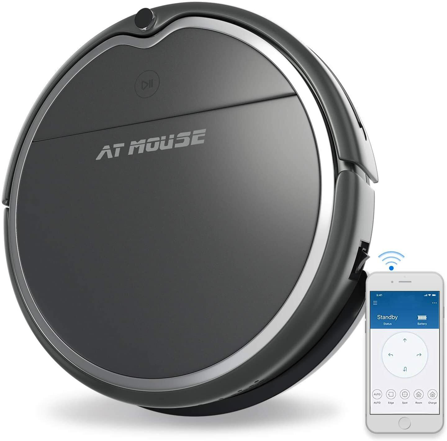 Robot Vacuum Cleaner with Strong Suction, Alexa Connectivity