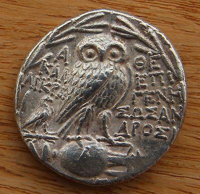 Attica, Athens (158-157 BC) AR Tetradrachm