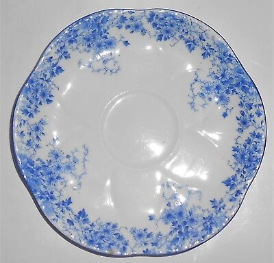 Shelley Bone China Dainty Blue Saucer - $13.95