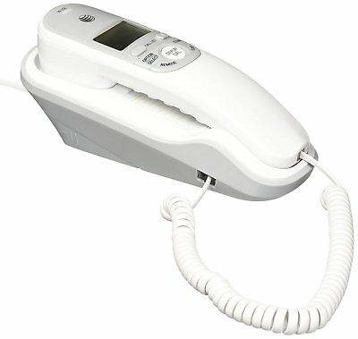 ATT Corded Home Phone Office With Caller ID Desk And Wall Mount Telephone Desk Mount Corded Telephone