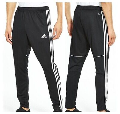 adidas Tango Track Pant Large Mens Black Tracksuit Bottoms Training Football L