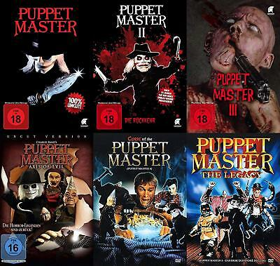 Halloween 6 Part 1 German (Pack of 6 Puppet Master Collection Part 1 2 3 6 Axis of & Evil Legacy Curse)