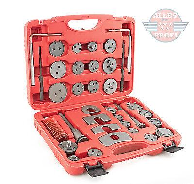 Bremskolbenrücksteller Bremsenkolben Rücksteller Werkzeug Satz Set (35tlg-ham-C)