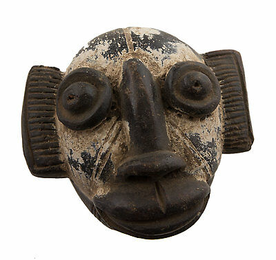 Mask Diminutive African Passport Miniature Earth Cotta Terracotta 6443 AF1