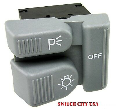 OEM Jimmy Blazer Bravada S10 Sonoma Headlight Fog Light Dimmer Switch - Oem Jimmy