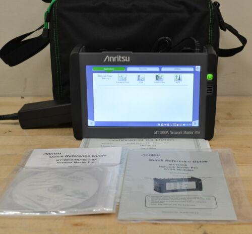 Anritsu MT1000A Network Master PRO w/MU100020A OTDR Module  1310-1550nm SMF NEW