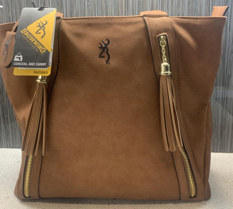 Browning B000012320199 Alexandria Handbag - Brown Conceal And Carry Ships Free