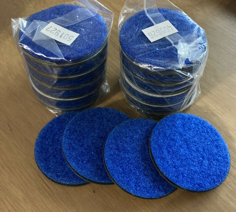 LOT OF 24 RTI ELM RTI Eco Blue Stage #5 Sanding Pads Single-Sided