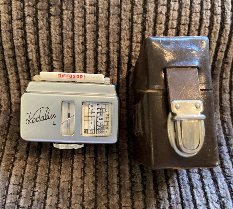 Vintage Kodak Kodalux L Shoe Mount Gossen Light Meter